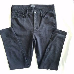 J Crew Factory Black Skinny Jeans Denim NWOT